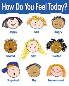 Feelings clipart preschool These Find FREE: used a