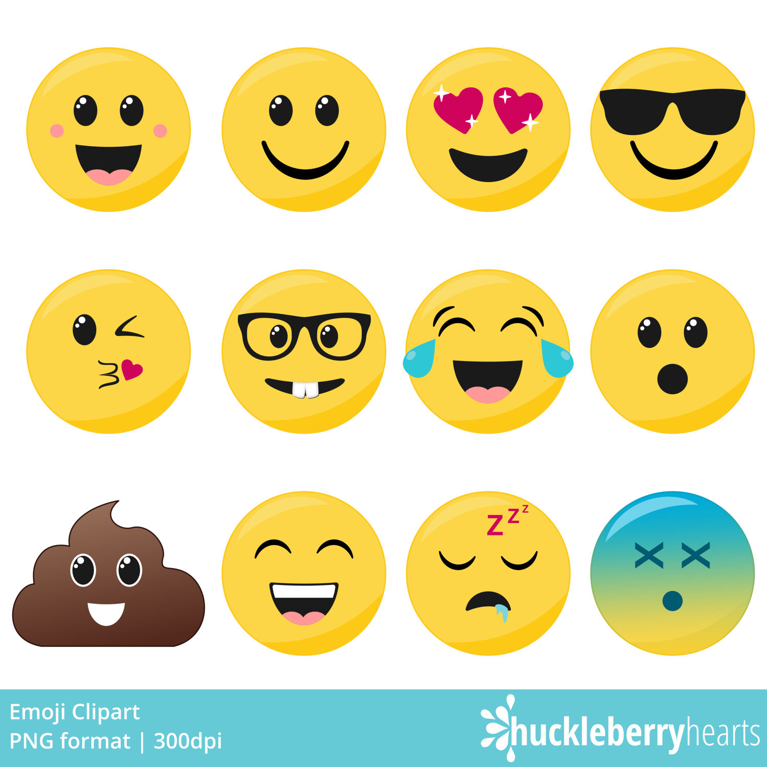 Feelings clipart printable Face Emoji Clipart Faces