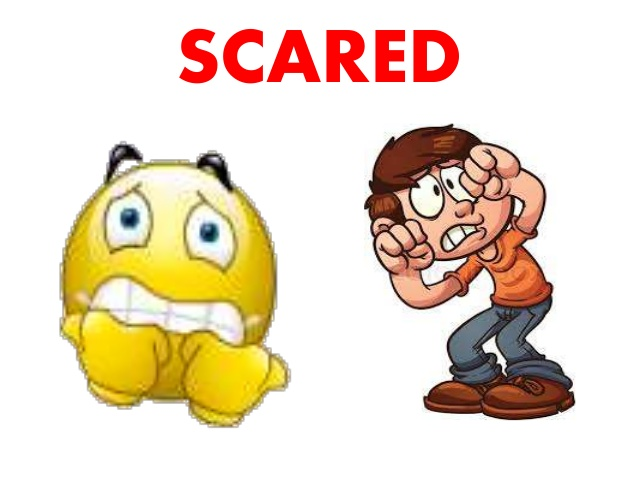 Feelings clipart scared  Unit ANGRY; 7 name: