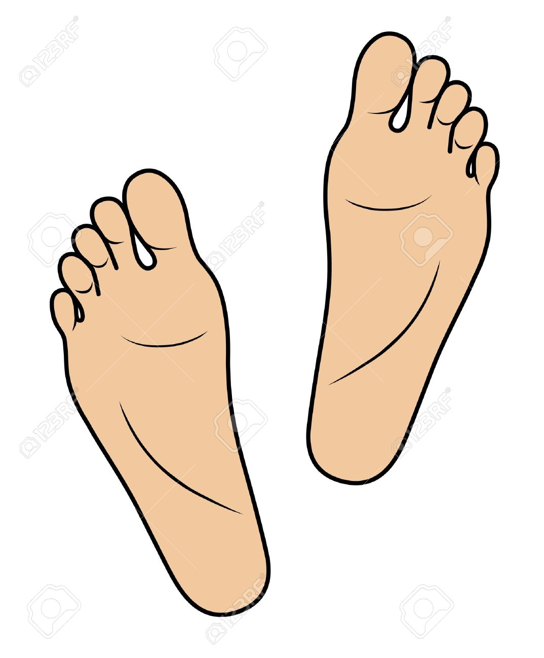 Feet clipart step Use Panda Clip To Foot