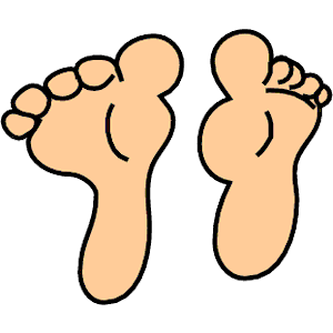Feet clipart body part Foot To Clipart Free Clip