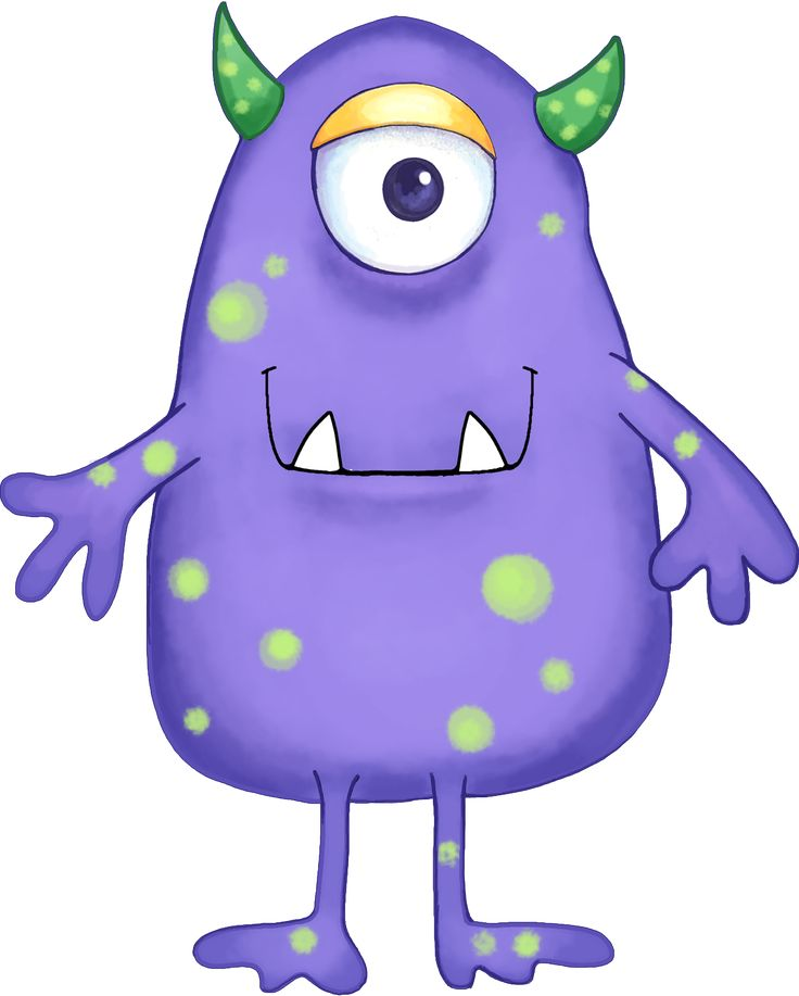 Footprint clipart alien Images Blue Purple Your little