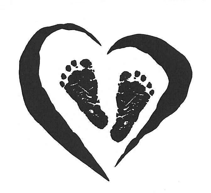 Footprint clipart footprint outline 3 feet footprints baby feet