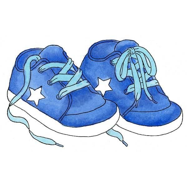Blur clipart warehouse On Sneakers Baby Boy babies