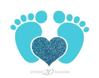 Feet clipart baby foot heart Art Gallery Download  Art