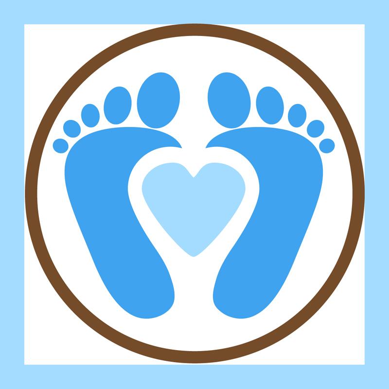 Feet clipart baby foot heart Cliparts Heart Heart Baby ·