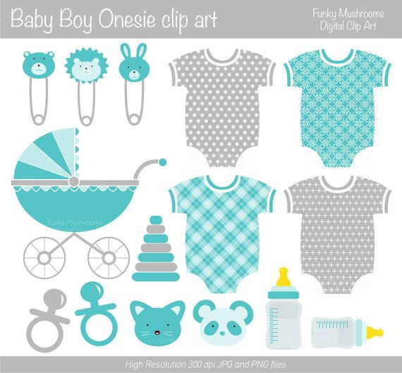 Feet clipart baby onsie Boy clipart on bottle Pinterest