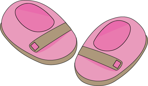 Feet clipart baby shoe Baby Shoes Pink Baby com