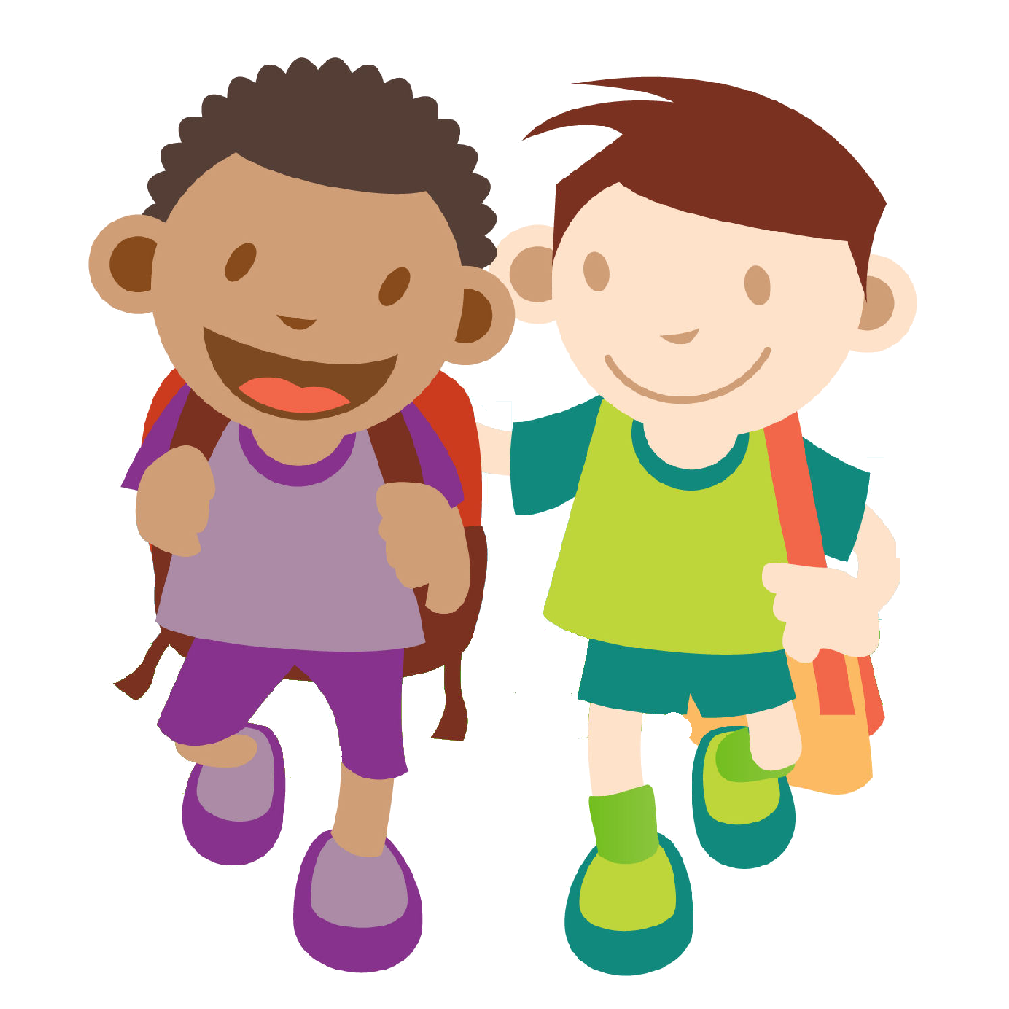 Hiking clipart lost child  Walking Cliparts Cartoon Clip