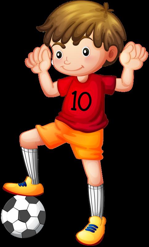 Soccer clipart athletic boy Art con clip y mandalas