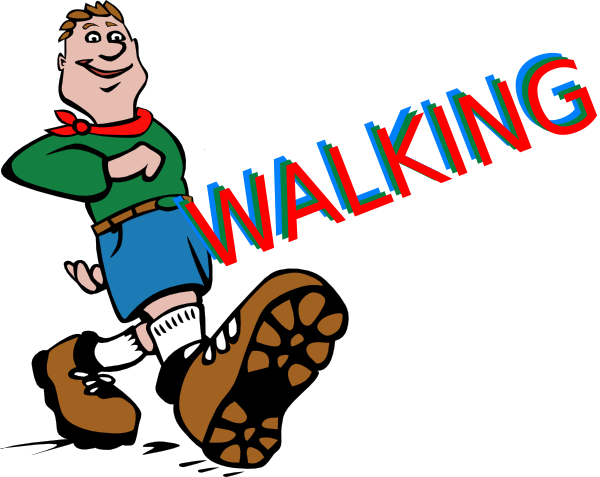 Feet clipart child walking WikiClipArt Walking free images feet