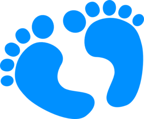 Blur clipart handprint Feet Feet Free Clipart Clipart