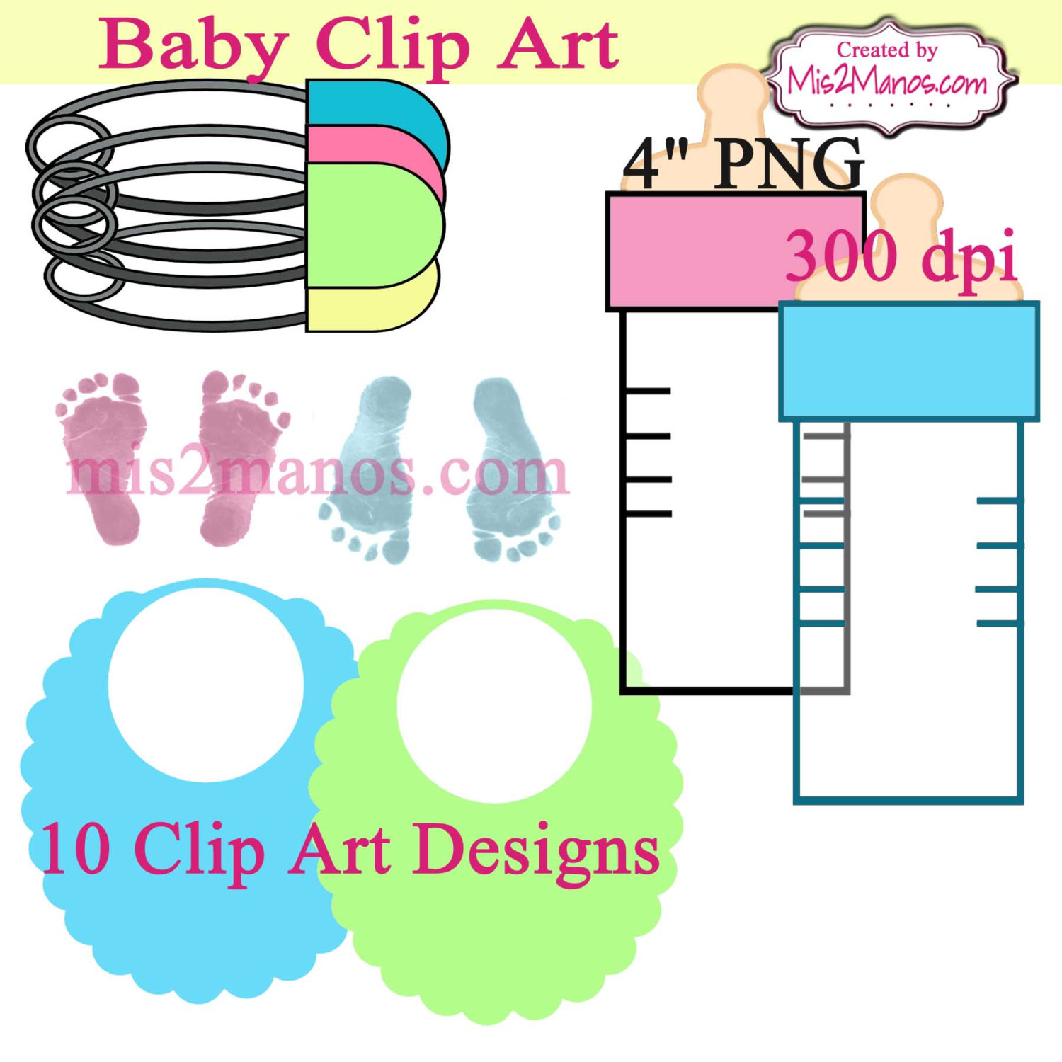 Feet clipart diaper party File is baby digital diaper