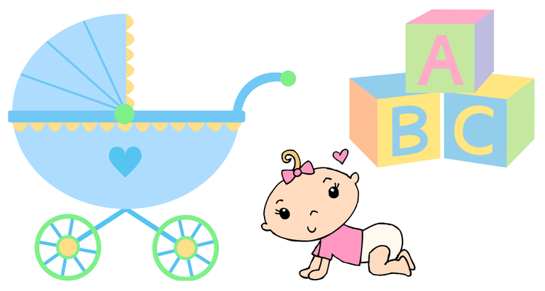 Feet clipart diaper party Right art of from clip