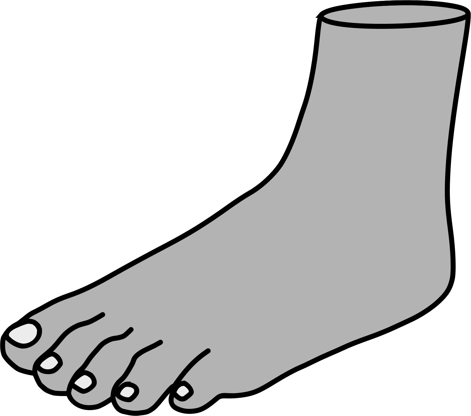 Barefoot clipart foot stomping #7