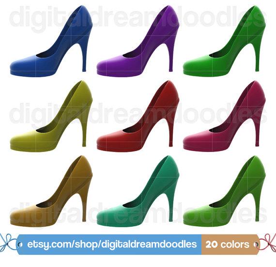 Heels clipart fashion shoe #3