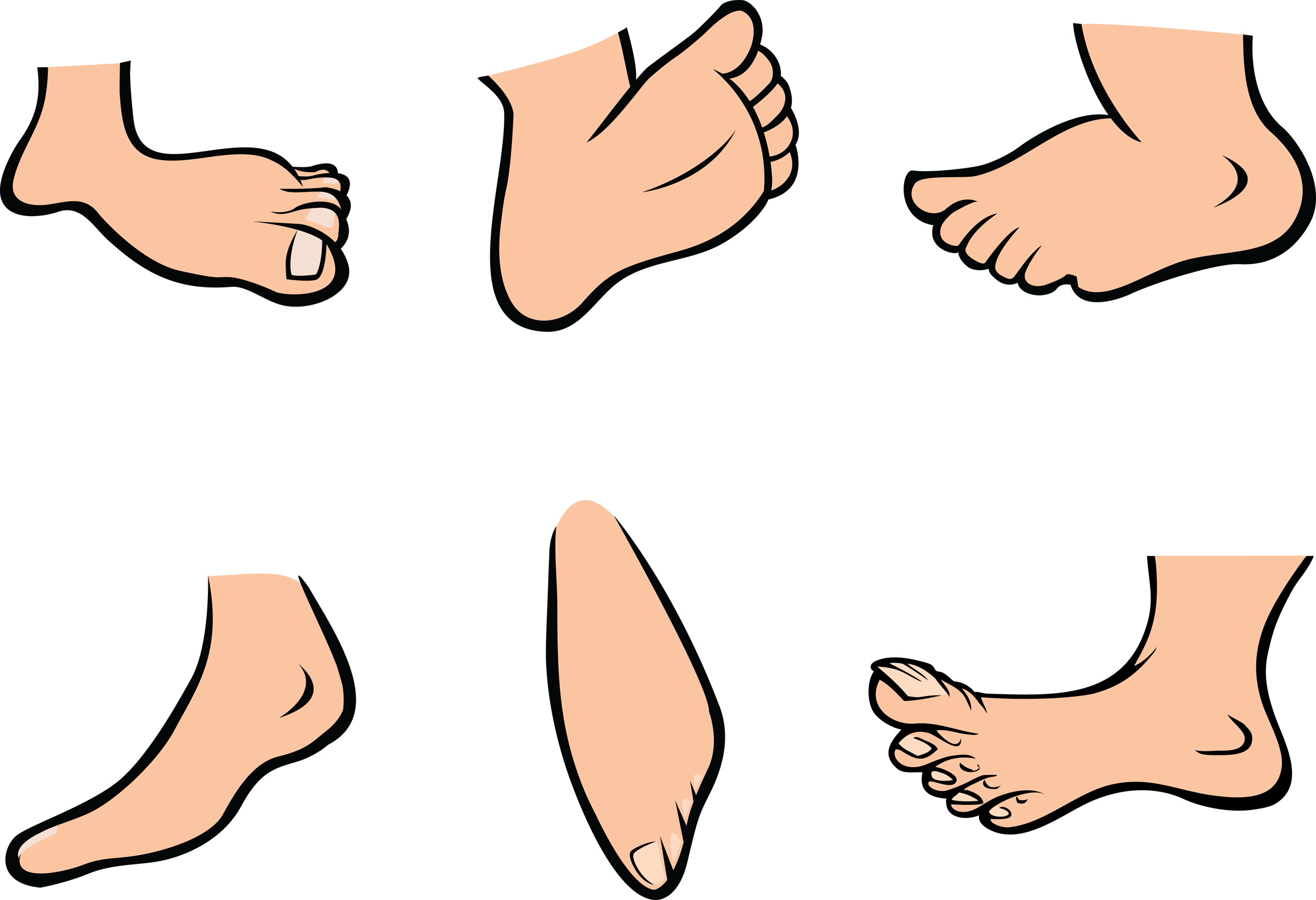 Barefoot clipart foot stomping #1
