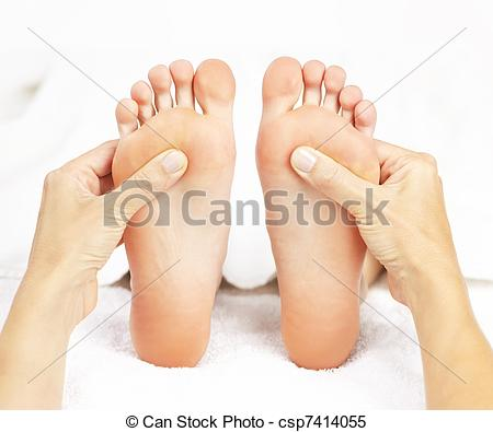 Feet clipart foot rub To of hands massage giving