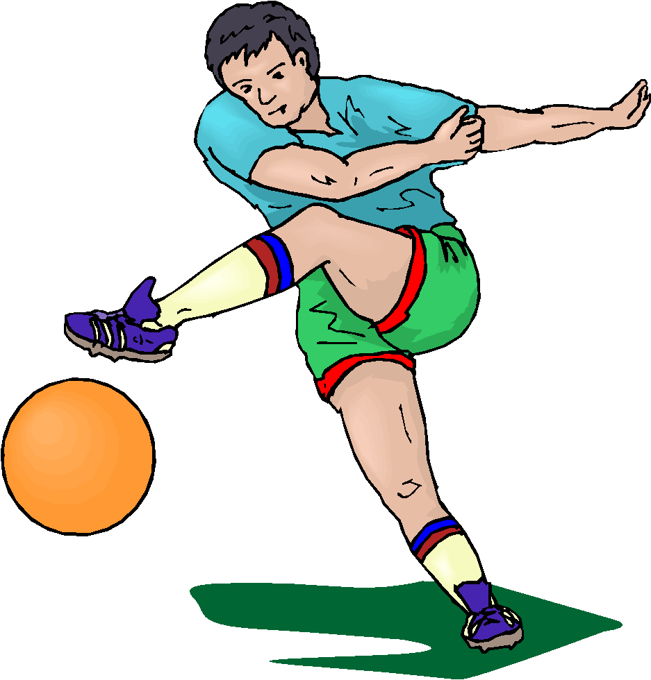 Match clipart bad habit Clipart Images Player football%20kick%20clipart Football