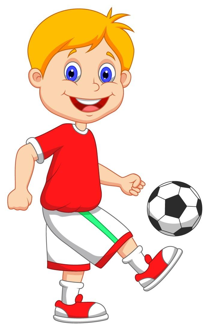 Receiver clipart football basketball Football Vector Cartoon Free Player