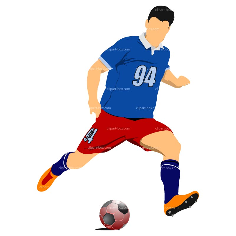 Receiver clipart sport player Football images clip Mean player