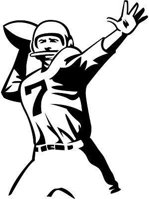 Drawing clipart football Football Football image black football