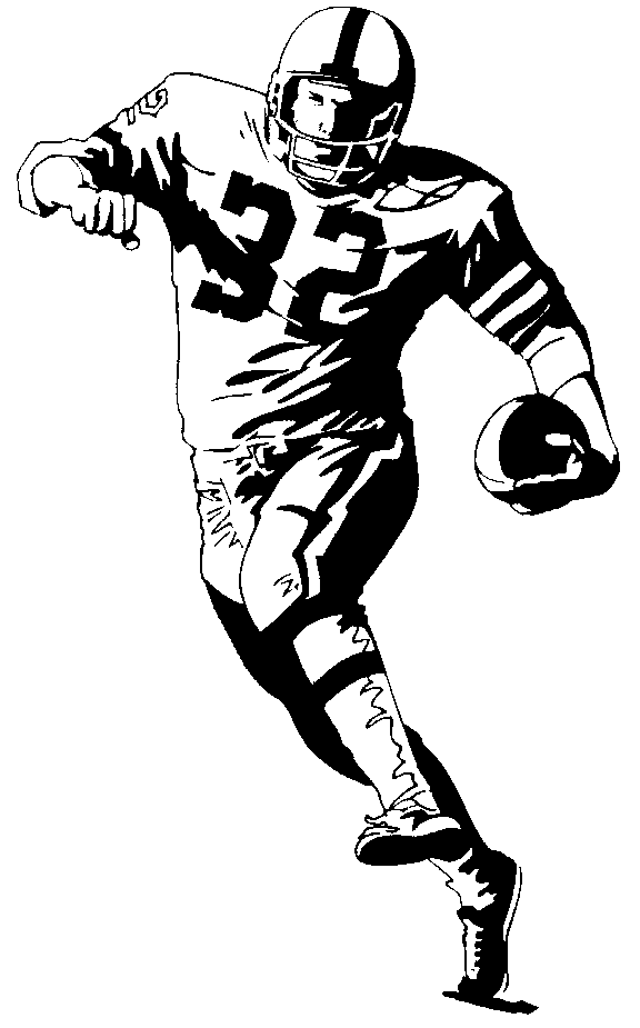 Sketch clipart football Savoronmorehead clipartix clip image Art