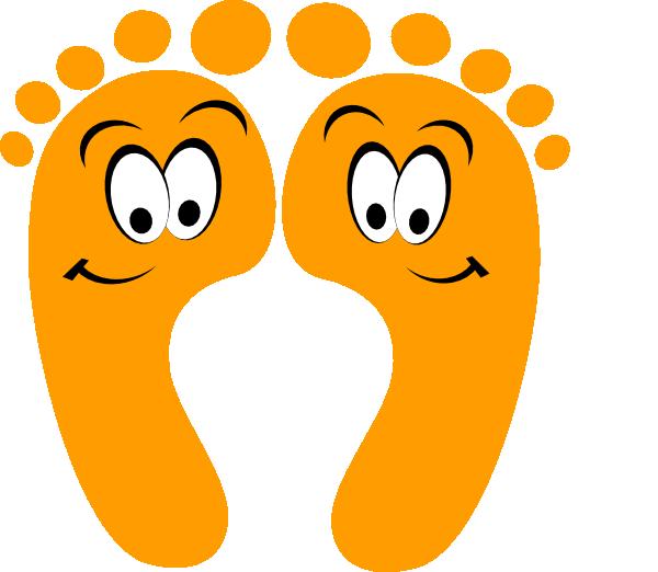 Barefoot clipart toe #4