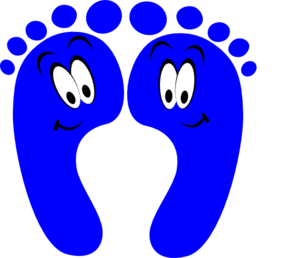 Feet clipart happy foot Image Foot feet art clip