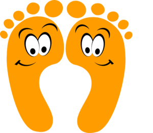 Feet clipart happy foot Clipartner Art Feet & cartoon