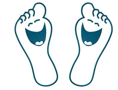 Feet clipart happy foot Home Orthotics Feet Happy