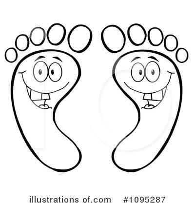 Feet clipart illustration Feet Illustration (RF) Toon by