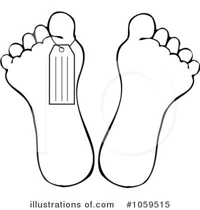 Feet clipart illustration Clipart Illustration (RF) Feet djart