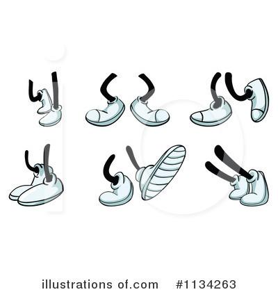 Feet clipart illustration Clipart Illustration (RF) Feet colematt