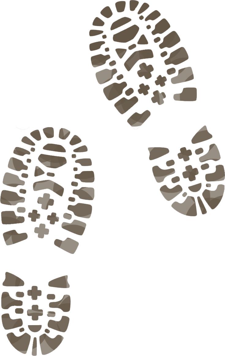 Feet clipart muddy shoe Ramblers shoe Track Boot Of