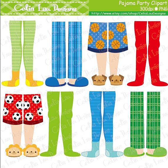 Feet clipart pajama Pajama Pajama Pajama Clipart clipart