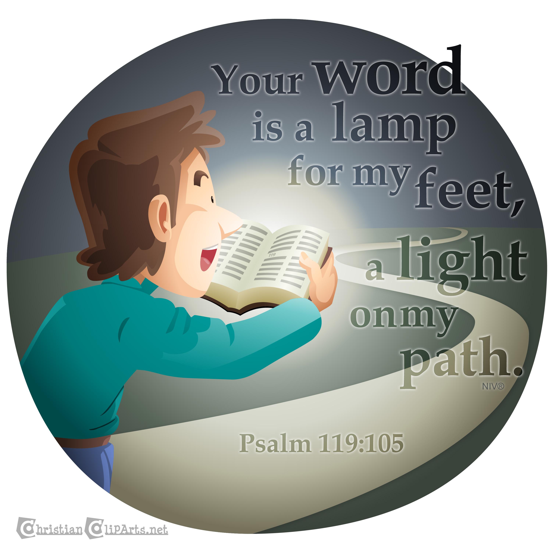 Feet clipart path – Light Art Path Light