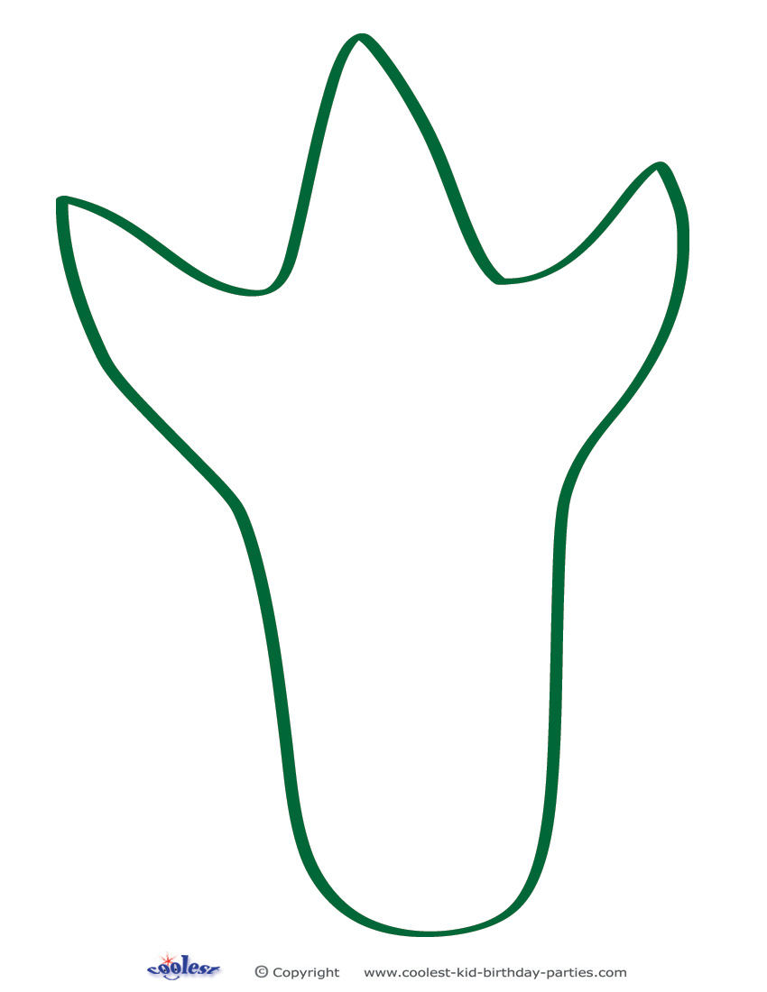 Brachiosaurus clipart dinosaur footprint Dinosaur Footprints footprint collection Panda