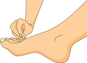 Feet clipart quiet foot Stock Hands clipart and And