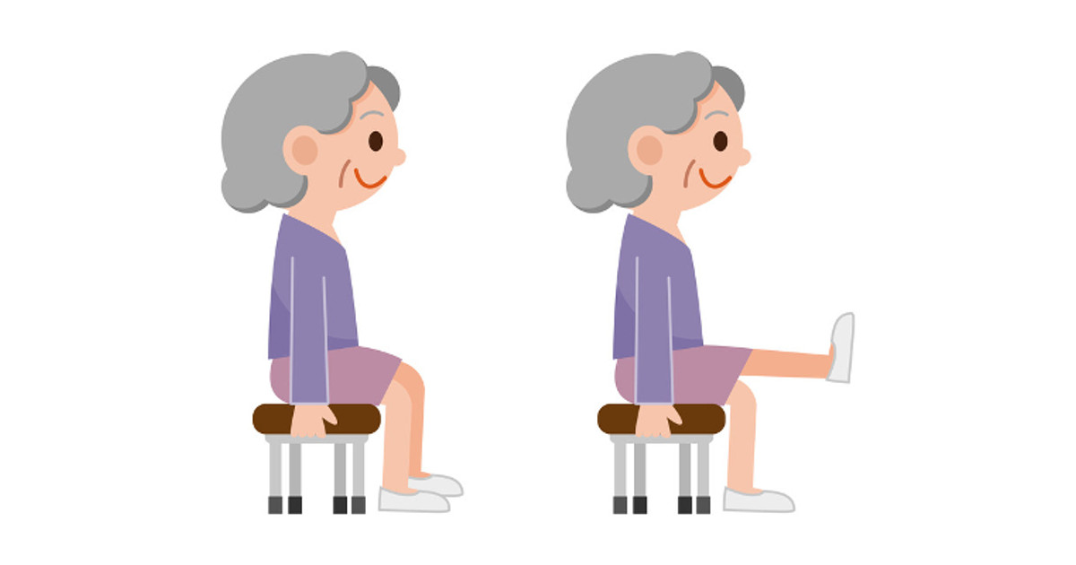 Iiii clipart chair VIDEO: Effective Seniors  Exercises