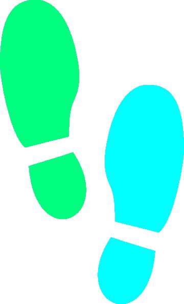 Footprint clipart shoe print Clip com Images Free Pictures