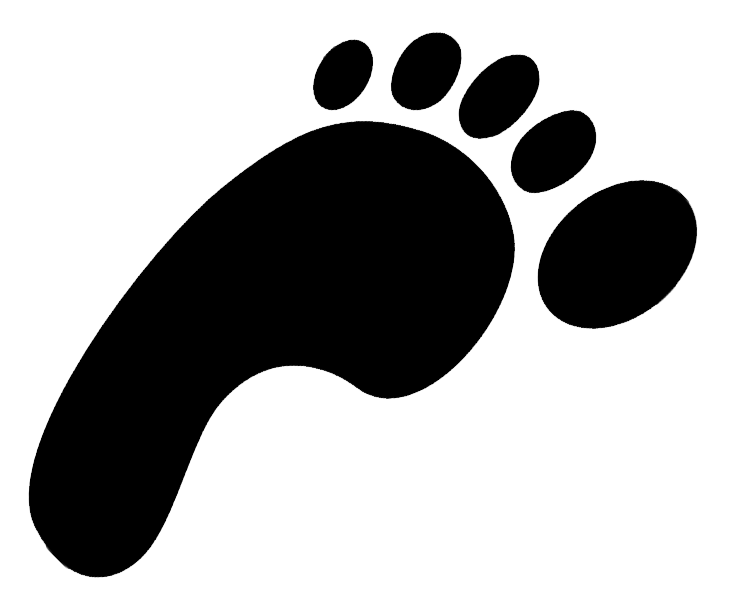Footprint clipart shoe print For  Baby Free gallery