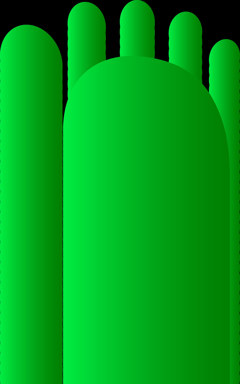 Footprint clipart right Art feet Foot Print Clip
