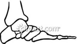 Feet clipart side Clip clipart foot side Art