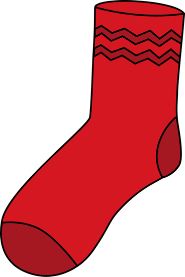 Feet clipart sock Yellow art red socks sock