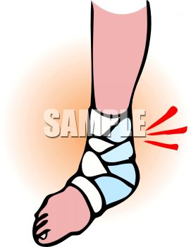 Feet clipart sprained ankle Ankle Ankle Panda 20clipart collection