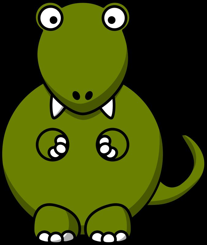 Sad clipart t rex #1