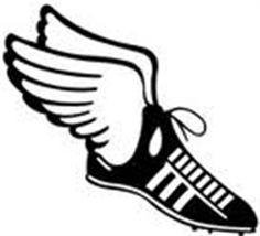 Mythology clipart track foot Teacher shoe on  art