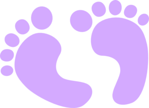 Footprint clipart baby shower Clip footstep%20clipart Baby Free Clipart
