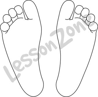 Feet clipart two foot Lesson Zone feet Two AU